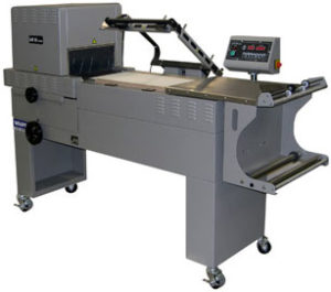 Used Combination L Sealer Shrink Wrapping Machine