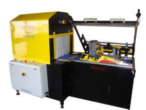 The Titan shrink wrapping machine